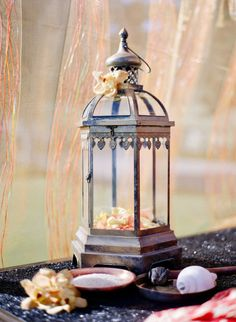 Great to use for making a hanging fairy garden - lantern.