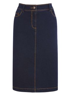 Darkwash Denim Skirt - Skirts - Women - BHS