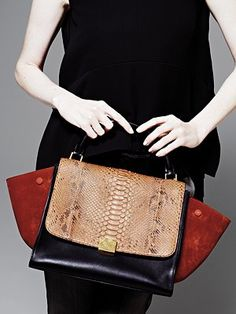 Celine Trapeze Bag on Pinterest | Celine, Celine Bag and Leather ...