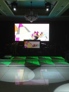Here's a great shot of the EBE Video Wall, Technology DJ Facade and LED Dance Platforms at the always beautiful Four Seasons.
