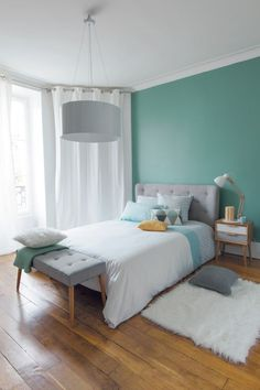 Turquoise Room Ideas - Well, how regarding a touch of turquoise in your room? Set your heart to see it due to the fact that this post will certainly give you turquoise room ideas. Table of Contents. Room, Interior, Home Bedroom, Bedroom Interior, Home Decor, Room Inspiration, Home Deco, Room Decor, Modern Bedroom