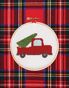 Country Living's Free Cross-Stitch Patterns