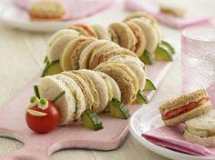 amuse-bouche original à base de concombres, tomates cerises et beurre