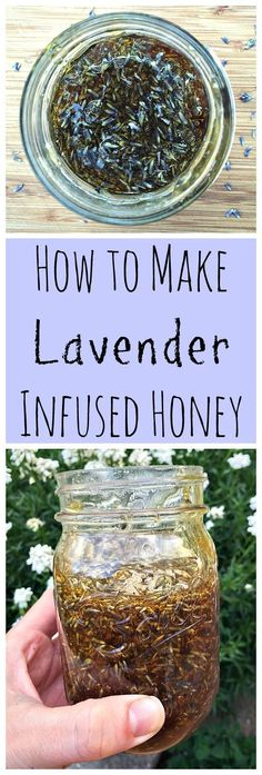 Herbal Gardening Ideas Be fiercely DIY and make a simple and delicious infused herbal honey! - Be fiercely DIY and make a simple and delicious infused herbal honey! You won't believe how easy and delicious this lovely herbal infused honey is. Chutney, Lavender Recipes, Honey Recipes, Lavender Crafts, Herb Recipes, Cream Recipes, Dressings, Lavender Honey, Lavander