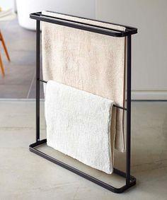 Another great find on #zulily! Black Slim Towel Hanger #zulilyfinds $33.