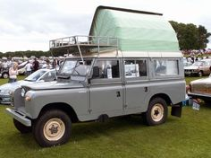 Land Rover Camping | Motorhome, RV and Campervan Photos