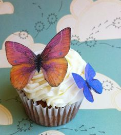 Edible Butterflies, by SugarRobot