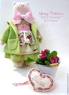 Игрушки ручной работы Натальи Дзигора - 11 Апреля 2014 - Кукла Тильда. Всё о Тильде, выкройки, мастер-классы.