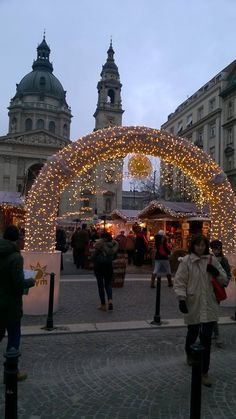 Visit the Christmas Market in Budapest