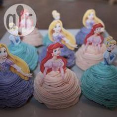 Prinzessin Cupcakes, Kindergeburtstag, Muffins Prinzessin, einfache Cupcakes @ de.allrecipes.com