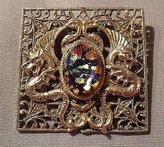 Азбука винтажных украшений. Стекло «Дыхание дракона» и «Яйцо дракона» - Ярмарка Мастеров - ручная работа, handmade