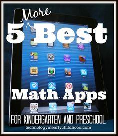 Five More Best Math Apps for Kindergarten and Preschool