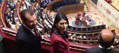 Ana Togores, la gran sorpresa en las tribunas del Congreso de los Diputados - Es la segunda mujer del padre de Letizia.