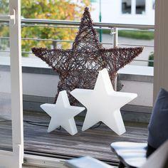 Shining Star Beleuchteter Outdoor-Stern. Leuchte für den Innen- und außenbereich. https://www.ikarus.de/marken/8-seasons-design.html