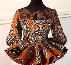Short African Dresses, South African Fashion, Latest African Fashion Dresses, African Print Fashion, Africa Fashion, African Blouses, Ankara Fashion, Tribal Fashion, African Prints