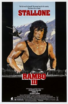 """ Rambo III "" de Peter Mac Donald (1988)"