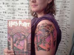 Fuck Yeah Harry Potter Tattoos!: Photo
