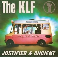 THE KLF Justified And Ancient Vinyl Record 7 Inch KLF 99 1991 EX