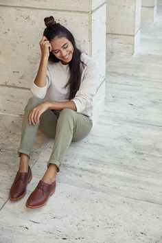 Shop Sexy Trending Shoes – Boutiquefeel offers the best women's fashion Shoes deals Oxford Shoes Outfit Women's, Brown Shoes Outfit, Women Oxford Shoes, Brogues Outfit, Shoes Men, Oxfords For Women, Loafers Men, Shoes Sneakers, Women's Shoes
