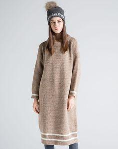 #AdoreWe #VIPme Sweaters & Cardigans - SIKYA Wool Blend Crewneck Knitted Sweater - AdoreWe.com