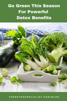 I'm talking about green vegetables. Packed with vital nutrients they are great way to get your 5 – 9 a day but they have a wealth of health and detox benefits too. Find out what they are and get recipes too! Detox Program, Tasty, Yummy Food, Go Green, Feel Better, Wealth, Benefit, Diet, Seasons