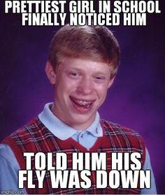 3a29f551d9ac67bd73d2fcb5c17e1a6a bad luck brian meme maker horse meme,Fly Down Meme