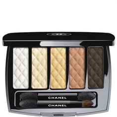 CHANEL - OMBRES MATELASSÉES EYESHADOW PALETTE More about #Chanel on http://www.chanel.com