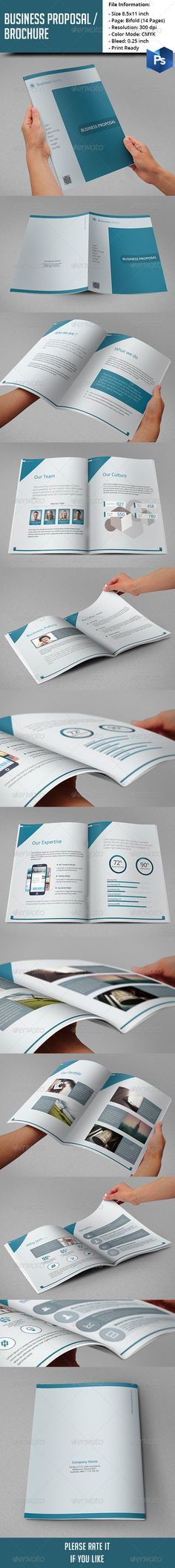 Business Proposal / Brochure  #graphicriver
