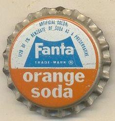Fanta of my youth Vintage Candy, Vintage Tins, Retro Vintage, Food Logo Design, Logo Food, Fanta, Soda Brands, Orange Julius, Orange Soda