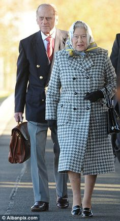The Queen arrives at King's Lynn station earlier this week