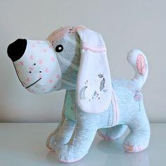 Homemade Stuffed Animals, Sewing Stuffed Animals, Stuffed Animal Patterns, Dog Pattern, Pattern Sewing, Monkey Pattern, Softie Pattern, Animal Sewing Patterns, Bear Patterns