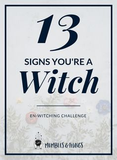 If you have dreams and visions, of past lives and the future, you might be a witch. If you can read other people and their energy and intentions fairly well, you might be a witch. If you often feel as if you have a Sixth Sense, you might be a witch. Magick Spells, Wiccan Witch, Wiccan Magic, Magick Book, Witch Signs, Witchcraft For Beginners, Wicca For Beginners, Witch Board, Witch Spell