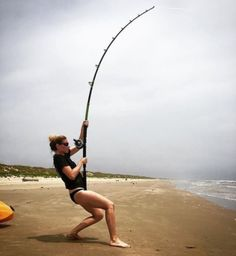 Jawbone Xtreme rod blanks are the best shark rod blanks you can find! Available in 8 models with varying rod lengths. Medium Heavy to XX Heavy power. Surf Fishing, Fishing Girls, Saltwater Fishing, Bass Fishing, Fishing Poles, Fishing Knots, Giant Fish, Big Fish, Kayak Equipment