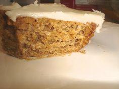 MSPI safe Applesauce Spice Cake.  Delish!