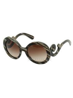 Prada Spr 27ns Round Baroque Sunglasses as seen on Gwen Stefani   Star  Style. Óculos De Sol ... 654b29f8f2