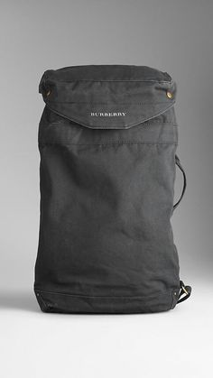 Burberry one strap backpack