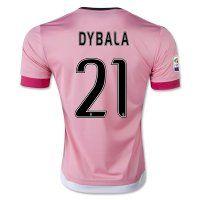 Juventus 2015-2016 Season DYBALA #21 Away Soccer Jersey