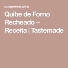 Quibe de Forno Recheado ~ Receita | Tastemade