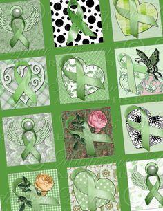 Organ Donation Awareness / Green Ribbons  by MasterpieceDesigns, $3.99