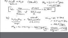 Molaridad y Normalidad de una Solución. Disoluciones Química Mistercinco