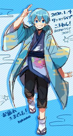 Cool Anime Guys, Cute Anime Boy, Anime Love, Idol Anime, Anime Art, Anime Chibi, Kawaii Anime, Magia Elemental, Rainbow Boys