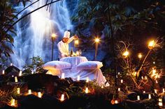 Sarojin Resort's candle lit dinner is one of its kind.