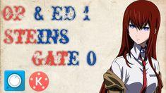 Opening & Ending Steins Gate Zero Full Gate, Zero, Youtube, Anime, Portal, Cartoon Movies, Anime Music, Youtubers, Animation