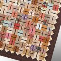 Check out this fun quilt made from charm squares!