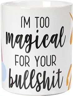 gag gifts for adults: Home & Kitchen Glass Coffee Mugs, Coffee Mug Sets, Mugs Set, Unicorn Coffee Mug, Funny Cups, Diy Sharpie Mug, Clay Mugs, Funny Slogans, Novelty Gifts
