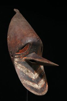 Turubu barak mask, late 19th century   via michaelhamson.com