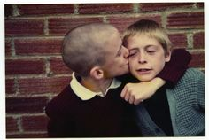 Gavin Watson Watson created a book called Skins and Punks, photographs of his childhood during the skins and punks scene. The photos are so powerful in representing an iconic era, and the innocense of it all. Teddy Boys, Skinhead, Victoria And Albert, Youth Culture, Post Punk, Book Photography, Old Pictures, Instagram Posts, Bro