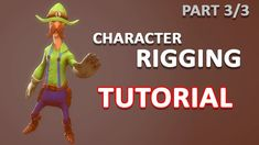 Autodesk Maya 2018 - Simple Character Rigging Part 3 of 3