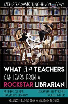 Teaching reading? Read about how to better your classroom practices and environment with these tips from one a librarian who has inspired change and revolutionized the literacy environment in her school.