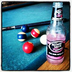 Okay maggie ....... isn't this the combo that got me into trouble last year at ladies league???      @Mercedes gutierrez's photo:Fourth of July playing pool, pink lemonade